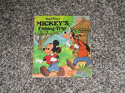 Walt Disney's Mickey's Fishing Trip Pop Up Book