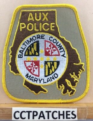 Baltimore County, Maryland Auxiliary Police Shoulder Patch Md