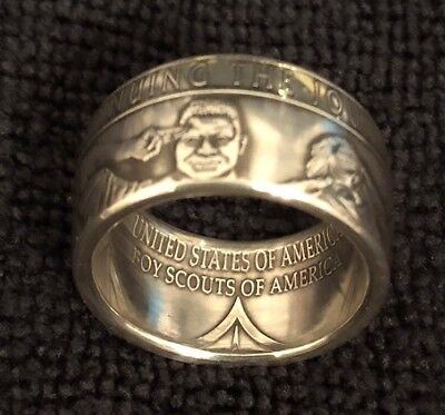 Boy Scouts of America .999 Silver Made to Order Ring