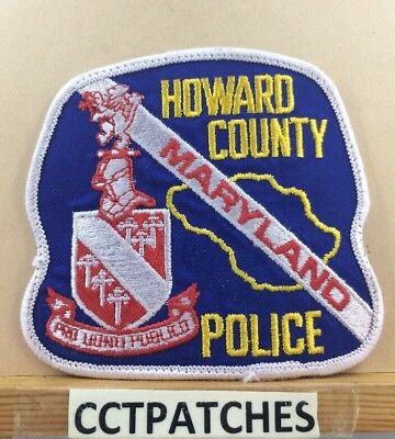 HOWARD COUNTY MARYLAND MD 9-1-1 Dispatcher COMMUNICATIONS POLICE PATCH