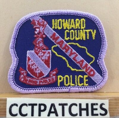 Howard County, Maryland Police (Small) Shoulder Patch Md