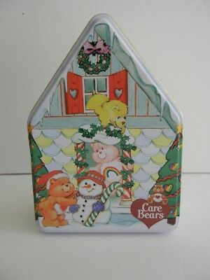 Care Bears Christmas Ornaments By Carlton Cards Collectible Tin Set Of 3
