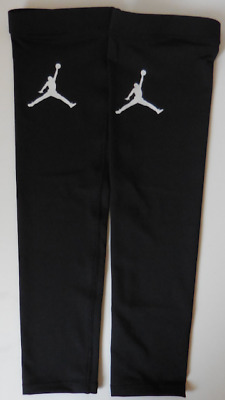 Nike Jordan Dri-Fit Football Arm Sleeves Color Black/White Size L/XL