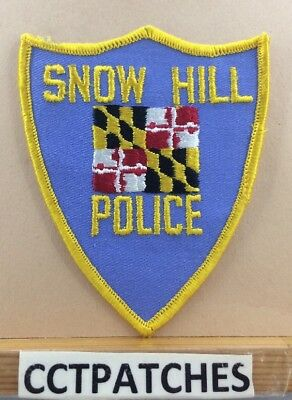 Snow Hill, Maryland Police Shoulder Patch Md