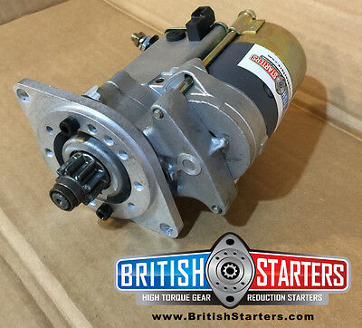 MG early MGB (1962-1967) Modern High Torque Gear Reduction Starter Motor