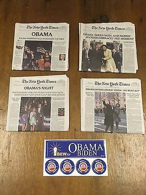 OBAMA Newspaper collection 2008- 2017