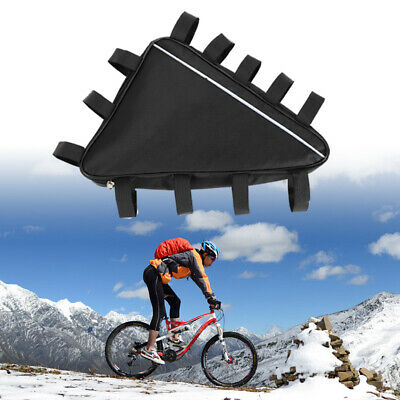 New mountain Bike triangle li-ion 18650 battery storage Black bag For 36V 0r 48V