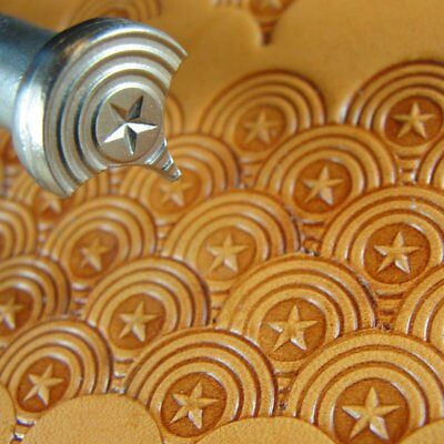James Linnell - Star Center Shell Geometric Stamp (Leather Stamping Tool)