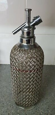 Original Made in England Soda Syphon - Not working  - Bar display only