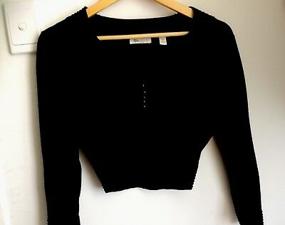 Ripe Maternity Work Business Cropped Jumper Cardigan Top size Xs 6 8
