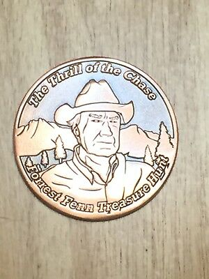 Forrest Fenn Searcher Coin #452 The Thrill of the Chase