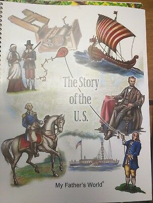My Father's World- The Story of the U.S.-SC Spiral Bound-Homeschool