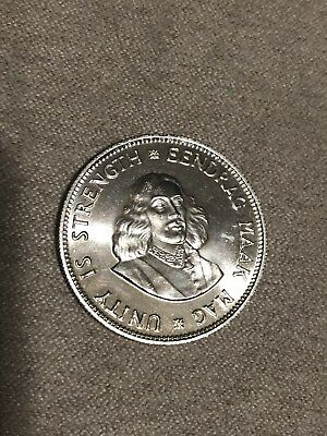 South Africa 20 Cents 1961 Proof Silver Coin