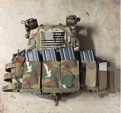 Eagle Industries Multic Double Mike4 FB Mag Pouch w/ Kydex - DEVGRU SEAL NSW SOF