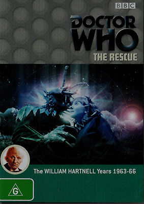 Doctor Who - 1st Dr The Rescue New/Unsealed Region 4  I will always combine post