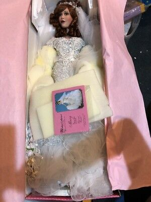 """Paradise Galleries Doll 31"""" Mary Beloved Bride Huge Doll New"""