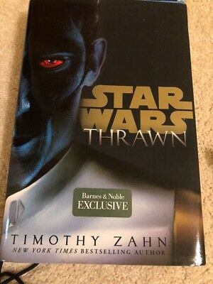NEW Star Wars Thrawn Hardcover Black B&N exclusive Timothy Zahn  No Poster
