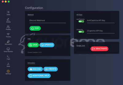 NEW FalconAiO Supreme Bot [Best Bot 2019] - Brand New, Unactivated, With Discord