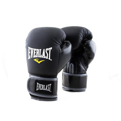 Everlast 6oz. Junior Training Boxing Gloves Gym Black for Children Ages 6 and Up