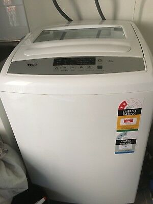 washing machine as new teco 8kg can be seen working exc condition little use