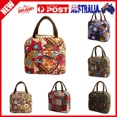 Durable Thermal Insulated Tote Picnic Lunch Cool Bag Cooler Box Handbag Pouch