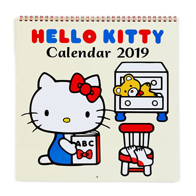2019 Hello Kitty Wall Calendar More Moms Babies By Acco Brands