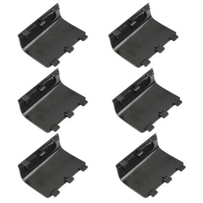 6x Replacement Battery Back Cover for XBox One Controller Black