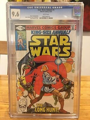 Marvel STAR WARS Annual #1 (White Pages) Cgc 9.6 NM- Marvel Comics 1979 cgc