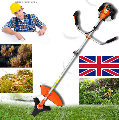 52 CC,3 HP Powerful Petrol Brush Cutter,Grass Trimmer Strimmer Garden Heavy Duty