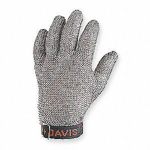 HONEYWELL Cut Resistant Glove,Silver,Reversible,XS, A515XS D, Silver