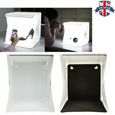 UK Light Room Photography Lighting Photo Studio Tent Mini Backdrop For Cube Box