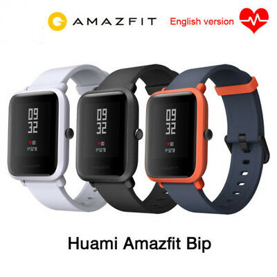 New Xiaomi Huami Amazfit Bip GPS IP68 Smart Bracelet Heart Rate Monitor Watch