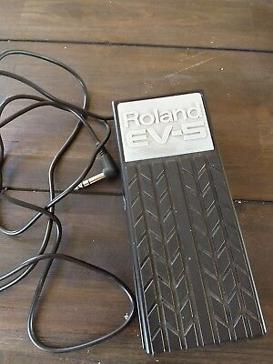 Roland EV-5 Expression Volume Pedal für Keyboard Synthesizer neuwertig