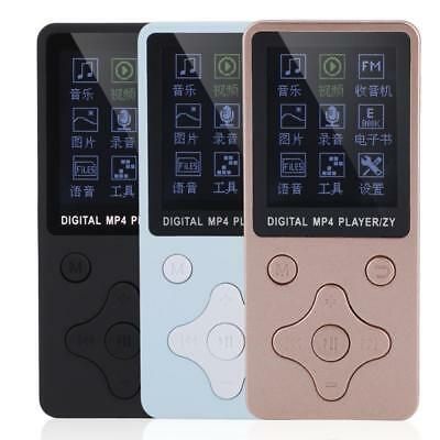 Portable Digital MP3 MP4 Music Player Support 32GB TF Card USB with Headphone