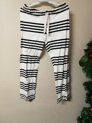 BNWT Country Road women ladies FL stripes PRNT PYJAMAS pants size S