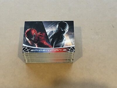 2007 Spiderman 3 The Movie Complete Set Trading Cards (79)