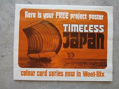"Weet bix project poster and 18/20 cards ""Timeless Japan"""