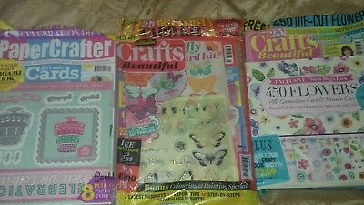 Collection of magazines with gifts...set 5
