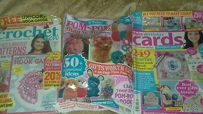 Collection of magazines with gifts...set 7