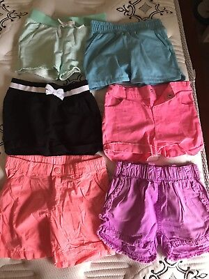 Size 5 Summer Shorts X6