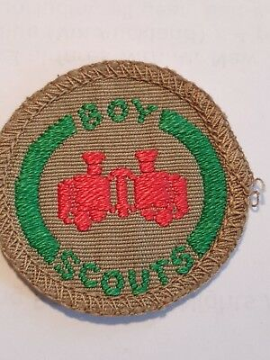 Boy Scout Proficiency Badge Observer late 60s