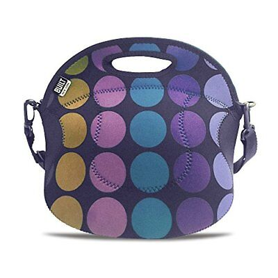 MINI DOT NAVY NEW BUILT NY-SPICY RELISH LUNCH TOTE $39
