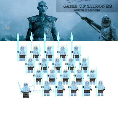 21PCS Game of Thrones Night's King And White Walker Army Building Block Toys