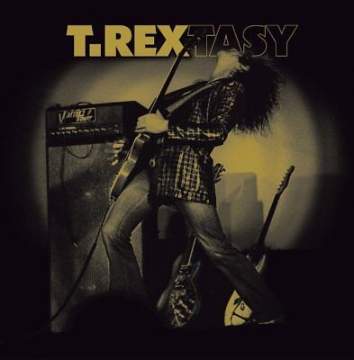 Marc Bolan / T.rex : 't.rextasy' - Live Double Lp In Stunning Mirrorboard Sleeve