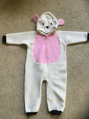 Baby gro Lamb Costume 24 Month Halloween Christmas Pageant Sleeper zips warm