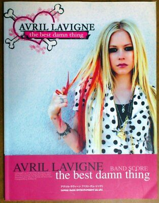 Avril Lavigne The Best Damn Thing JAPAN BAND SCORE GUITAR TAB