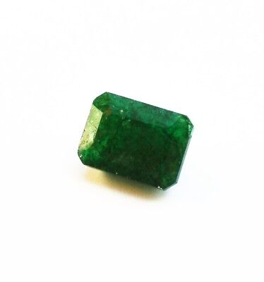 Emeraude Naturelle Verte de Colombie 10,04 ct avec Certificat d'Authenticité GGL