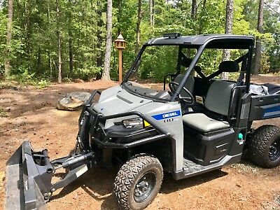 Ultra powerful 2015 Polaris Brutus HD PTO 4x4 w/Bucket, Quick detach arm