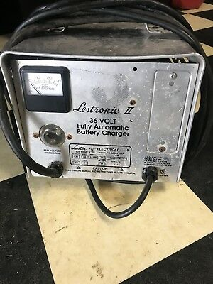 Lestronic II 36 Volt Golf Cart Automatic Battery Charger