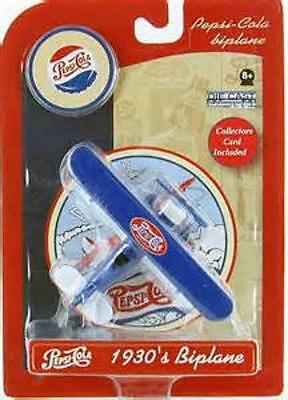 Pepsi Cola Collectible Die Cast Stearman Biplane